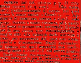 corsivo