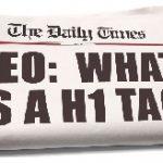 Tag H1: come ottimizzare il titolo delle pagine web