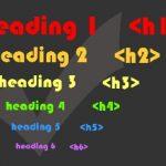 Come ottimizzare i tag di intestazione H1-H6