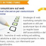 """Comunicare sul web"" recensito in home page da AlterVista!"