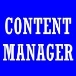 Content manager, altro nome del web content editor