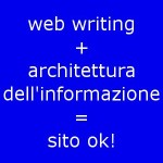 Web writing e architettura dell'informazione: una coppia indivisibile