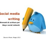 """Social media writing"" di Giacomo Mason"
