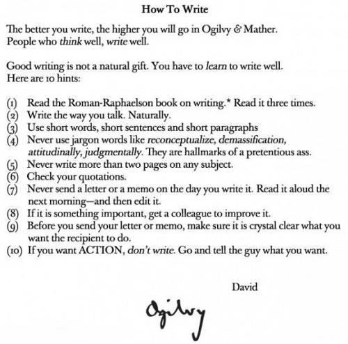 scrittura copywriter