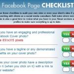 La checklist per la tua pagina Facebook!