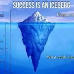 Blogger: il successo è come un iceberg!