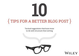 post blog consigli