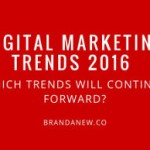 Digital marketing: i trend del 2016
