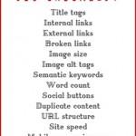 SEO on-site checklist: 15 punti su cui focalizzarti