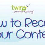 12 modi di riciclare un contenuto online